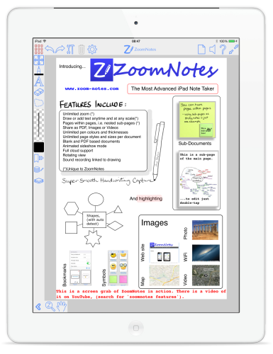 ZoomNotes | The most advanced iPad note taker